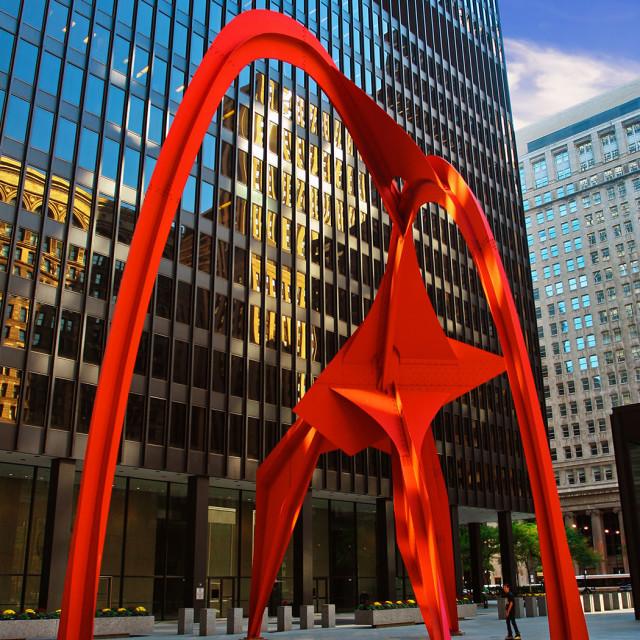 Flamingo Sculpture Chicago